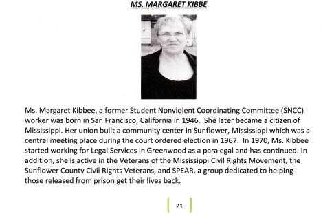 Ms. Margaret Kibbee