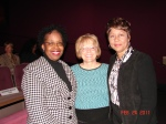 Sherie Labedis and Carolyn McKinstry