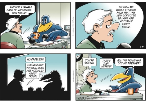 Doonesbury - more with Jim Crow