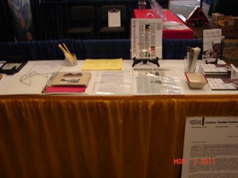 Table display