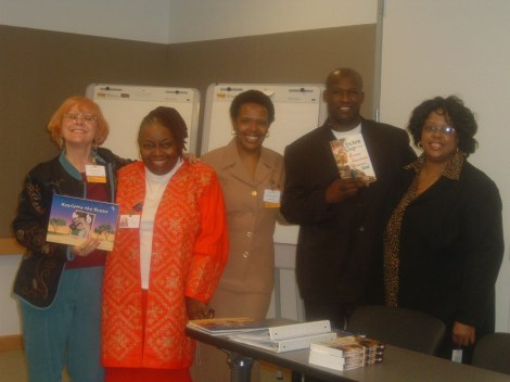 Sherie Labedis, Carolyn West, Nancy Gilliam, Jerry Craft, and Patricia Watler Johnson