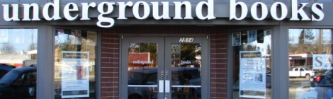 Underground Books - Store Front