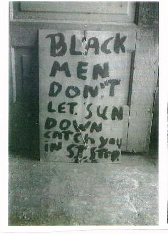 black man don't